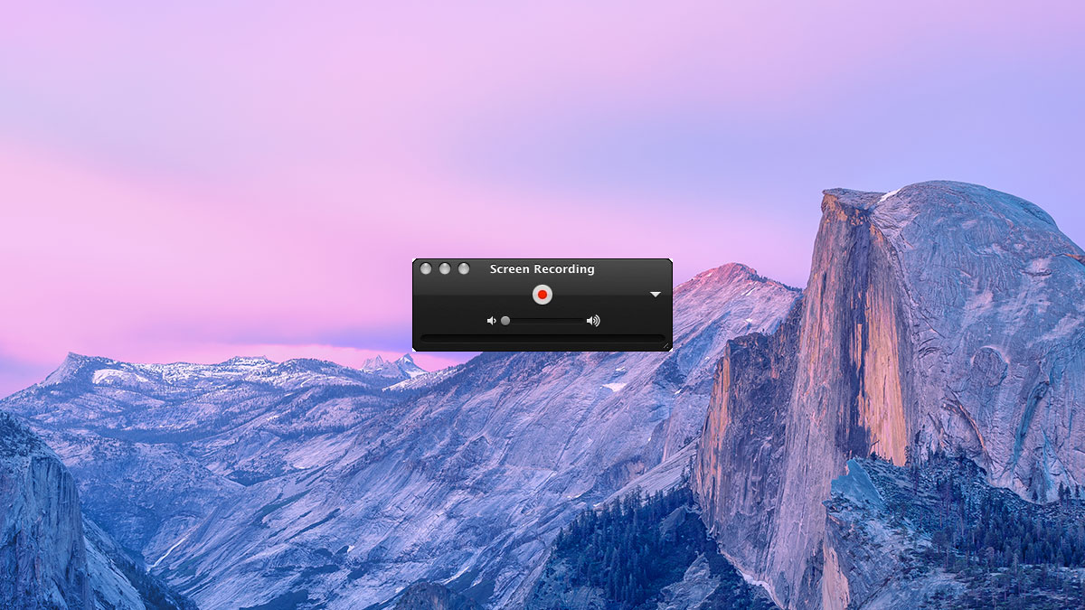 quicktime screen recording mac